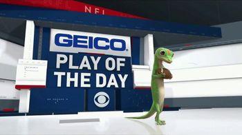 GEICO TV Spot, 'CBS Sports: Play of the Day: Born to Run' - Thumbnail 1
