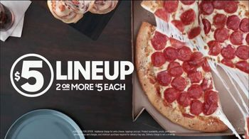 Pizza Hut $5 Lineup TV Spot, 'Home Wins of the Week: Browns' - Thumbnail 7