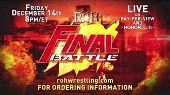 ROH Wrestling TV Spot, 'Final Battle 2018' - Thumbnail 9
