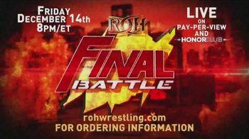 ROH Wrestling TV Spot, 'Final Battle 2018'