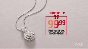 Belk Biggest Sale of the Season TV Spot, 'Diamond Pendant and Estee Lauder Gift' - Thumbnail 5