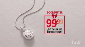 Belk Biggest Sale of the Season TV Spot, 'Diamond Pendant and Estee Lauder Gift' - Thumbnail 6