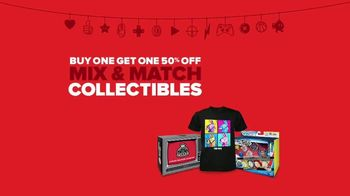 GameStop Game Days Sale TV Spot, 'Mix-and-Match Collectibles' - Thumbnail 9