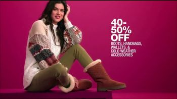 Macy's One Day Sale TV Spot, 'Boots, Handbags, Watches and Cashmere' - Thumbnail 2