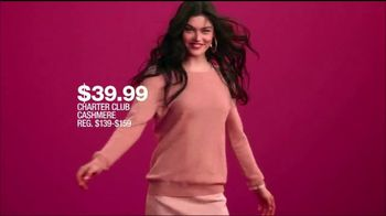 Macy's One Day Sale TV Spot, 'Boots, Handbags, Watches and Cashmere' - Thumbnail 6