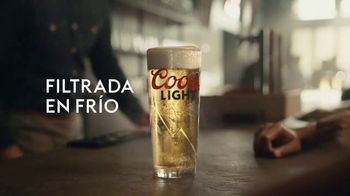 Coors Light TV Spot, 'Filtrada en frío' [Spanish]