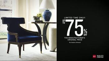 Value City Furniture Holiday Sale TV Spot, 'Save on Thomasville, Hendredon and Drexel'