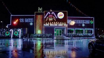Burger King 12 Days of Cheesemas TV Spot, 'Gifts'