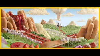 Subway Ultimate Cheesy Garlic Bread TV Spot, 'Happy Place' - Thumbnail 2