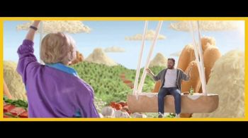 Subway Ultimate Cheesy Garlic Bread TV Spot, 'Happy Place' - Thumbnail 3
