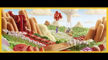 Subway Ultimate Cheesy Garlic Bread TV Spot, 'Happy Place' - Thumbnail 4