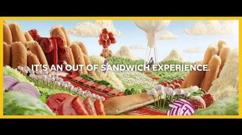 Subway Ultimate Cheesy Garlic Bread TV Spot, 'Happy Place' - Thumbnail 5