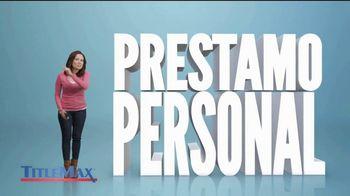 TitleMax TV Spot, 'Préstamo personal' [Spanish]