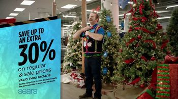 Sears TV Spot, 'Holidays: Save on Apparel'