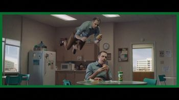 Subway Ultimate Cheesy Garlic Bread TV Spot, 'Hover'