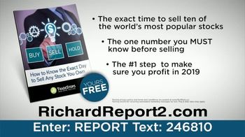 TradeStops TV Spot, 'Should You Sell Your Stocks in 2019?' - Thumbnail 6