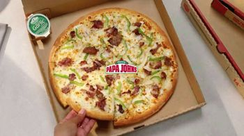 Papa John's Philly Cheesesteak Pizza TV Spot, 'Carne jugosa' [Spanish] - Thumbnail 1
