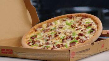 Papa John's Philly Cheesesteak Pizza TV Spot, 'Carne jugosa' [Spanish] - Thumbnail 6