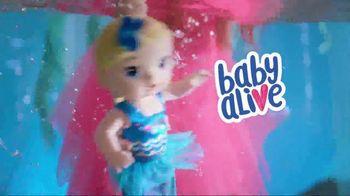 Baby Alive Shimmer 'N Splash Mermaid TV Spot, 'Mermaid Surprise' - Thumbnail 1