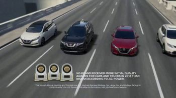 Nissan Zero in on Savings Sales Event TV Spot, 'The Smartest Time' [T2] - 8 commercial airings