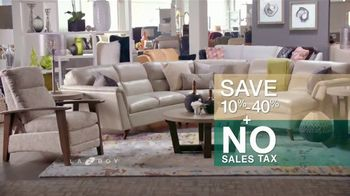 La-Z-Boy Super Saturday Sale TV Spot, 'Living Room Tour' - Thumbnail 7