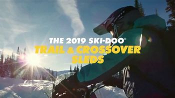 Ski-Doo Sales Event  TV Spot, 'Winter Celebration: 2019 Trail & Crossover Sleds' - Thumbnail 1