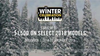 Ski-Doo Sales Event  TV Spot, 'Winter Celebration: 2019 Trail & Crossover Sleds' - Thumbnail 7