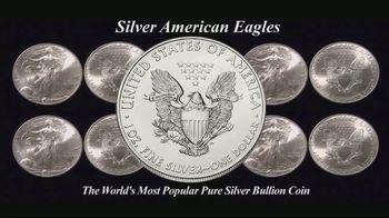 Monex Precious Metals TV Spot, 'Silver American Eagles'