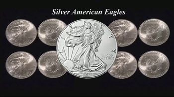 Monex Precious Metals TV Spot, 'Silver American Eagles' - Thumbnail 1