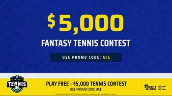 DraftKings TV Spot, '2019 Fantasy Tennis Contest' - 8 commercial airings