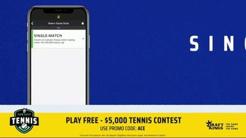 DraftKings TV Spot, '2019 Fantasy Tennis Contest' - Thumbnail 5