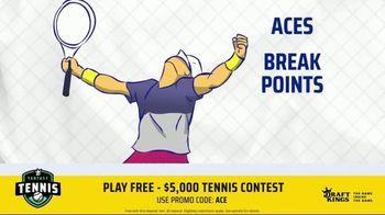 DraftKings TV Spot, '2019 Fantasy Tennis Contest' - Thumbnail 8