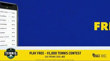 DraftKings TV Spot, '2019 Fantasy Tennis Contest' - Thumbnail 9