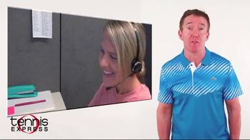 Tennis Express TV Spot, 'Phone Support, Live Chat and Secure Pay Options' - Thumbnail 3