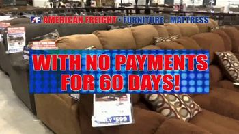American Freight Savings by the Truckload TV Spot, 'Take It Home for $50' - Thumbnail 3