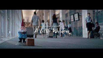 Travelocity TV Spot, 'A Little Wisdom: Unexpected Change of Plans' - Thumbnail 2