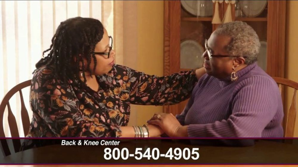 86de00e537 Back and Knee Brace Center TV Commercial, 'Covered by Medicare' - iSpot.tv