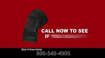 Back and Knee Brace Center TV Spot, 'Covered by Medicare' - Thumbnail 9
