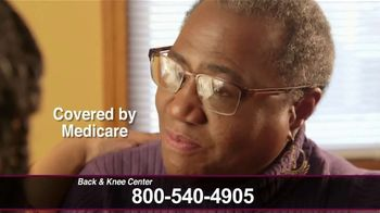 Back and Knee Brace Center TV Spot, 'Covered by Medicare'