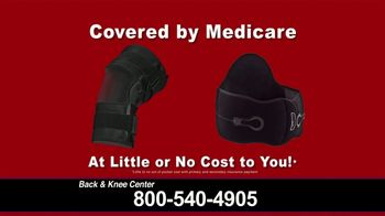 Back and Knee Brace Center TV Spot, 'Covered by Medicare' - Thumbnail 7