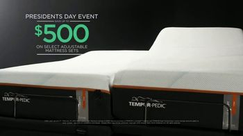 Tempur-Pedic Presidents Day Event TV Spot, 'No Effort Required' - Thumbnail 8
