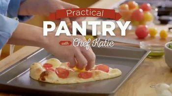 Stonefire Naan Original TV Spot, 'Practical Pantry: Mediterranean Dip & Caprese Pizza' - Thumbnail 2