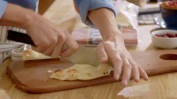 Stonefire Naan Original TV Spot, 'Practical Pantry: Mediterranean Dip & Caprese Pizza' - Thumbnail 5