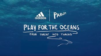 Tennis Warehouse Adidas Parley TV Spot, 'Play for the Oceans' Featuring Sascha Zverev - Thumbnail 6