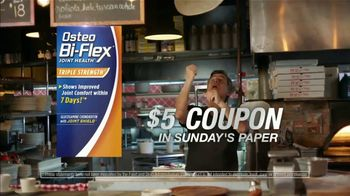 Osteo Bi-Flex TV Spot, 'Pizza: $5 Coupon' - Thumbnail 10