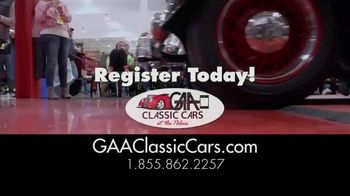 GAA Classic Cars TV Spot, '650 Classic and Muscle Cars' - Thumbnail 8