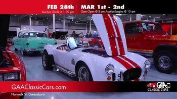 GAA Classic Cars TV Spot, '650 Classic and Muscle Cars' - Thumbnail 1