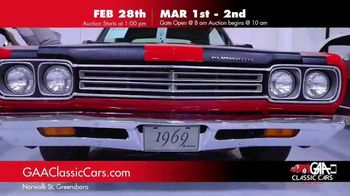 GAA Classic Cars TV Spot, '650 Classic and Muscle Cars' - Thumbnail 2