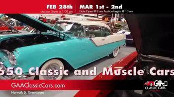 GAA Classic Cars TV Spot, '650 Classic and Muscle Cars' - Thumbnail 4
