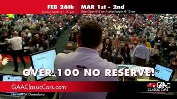 GAA Classic Cars TV Spot, '650 Classic and Muscle Cars' - Thumbnail 5